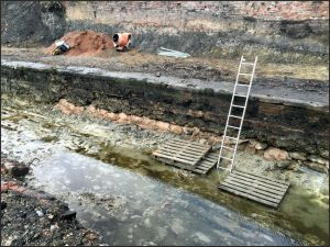 Canal Wall Underpinning.