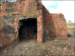 Old lime kiln