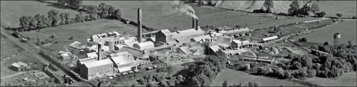 Nelsons Cement Works aerial photo